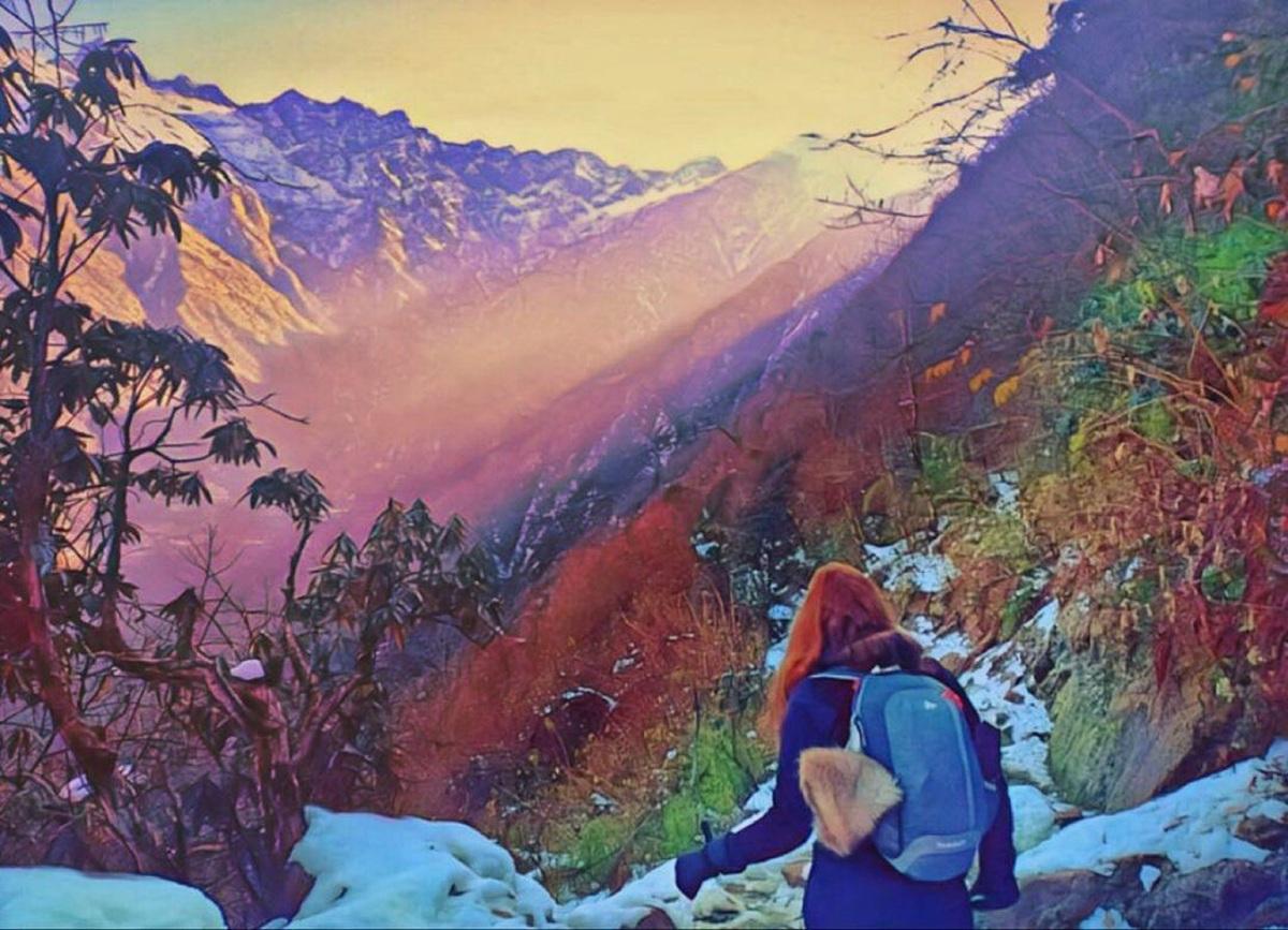 """""""Xiana Siccardi: Aventura en los auténticos Himalayas"""""""