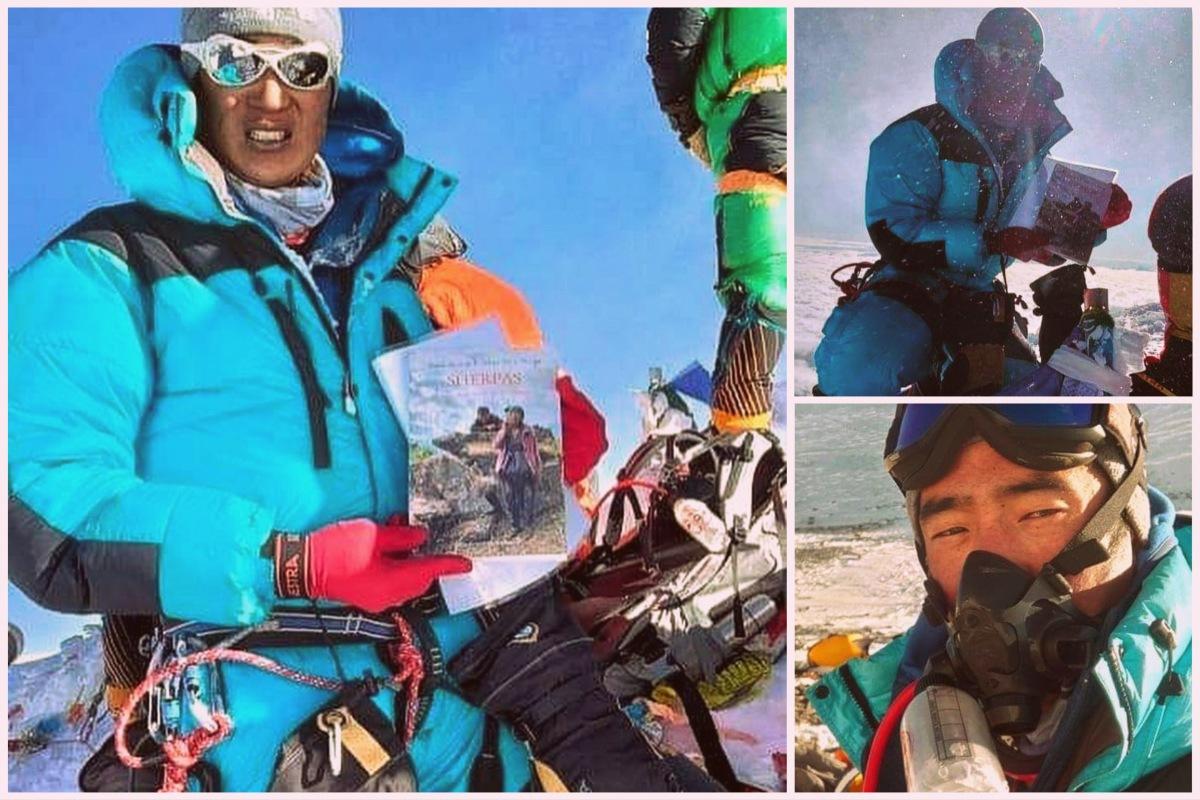 El libro 'SHERPAS' llega a la cima del Everest para visibilizar el trabajo de los alpinistasnepalíes